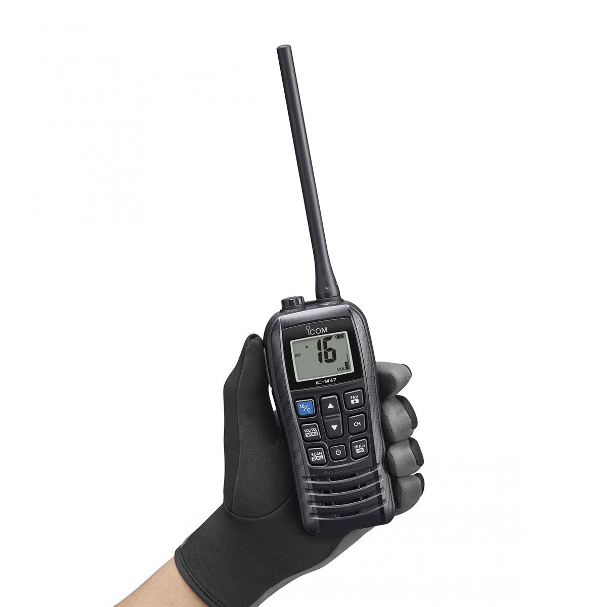 VHF portable ICOM ICM 37E